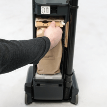 VU500 bag removal