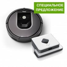 Roomba 960 + Braava 390T СПЕЦ