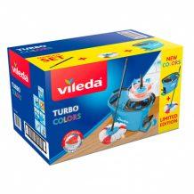 Набор Vileda Turbo Colors Лимитированная серия, голубой-2
